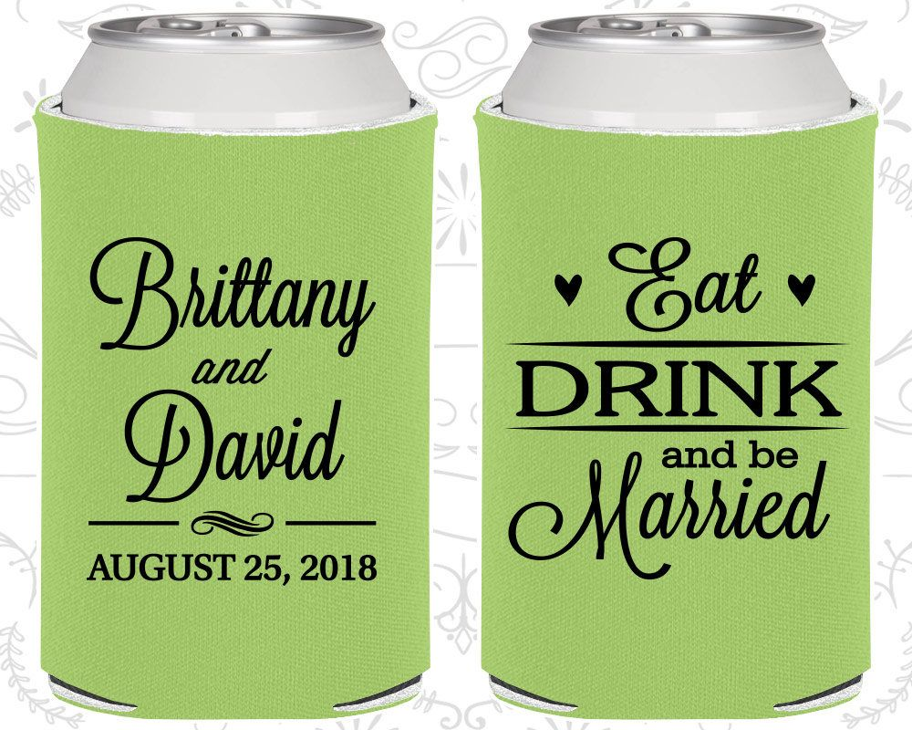 Can Coolers Wedding can cooler Wedding Can Coolers A Hug For Your Drink Can coolers Customized can coolers Personalized Wedding Favors