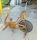 SCHWINN EXERCISER STATIONARY BICYCLE - VINTAGE 70'S - GOOD CONDITION #Fitness