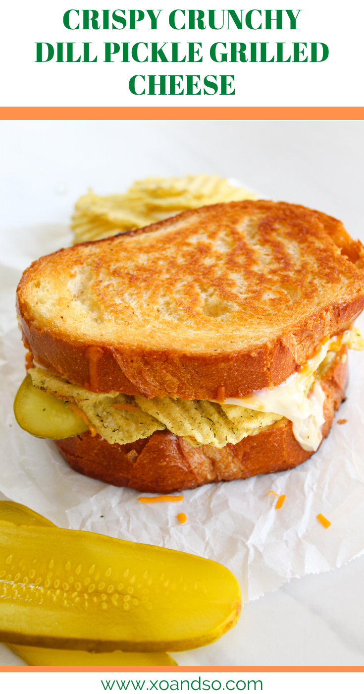 Dill Pickle Grilled Cheese Vegetarian Comfort Food Grilled Cheese Bar Cheese Sandwich Recipes