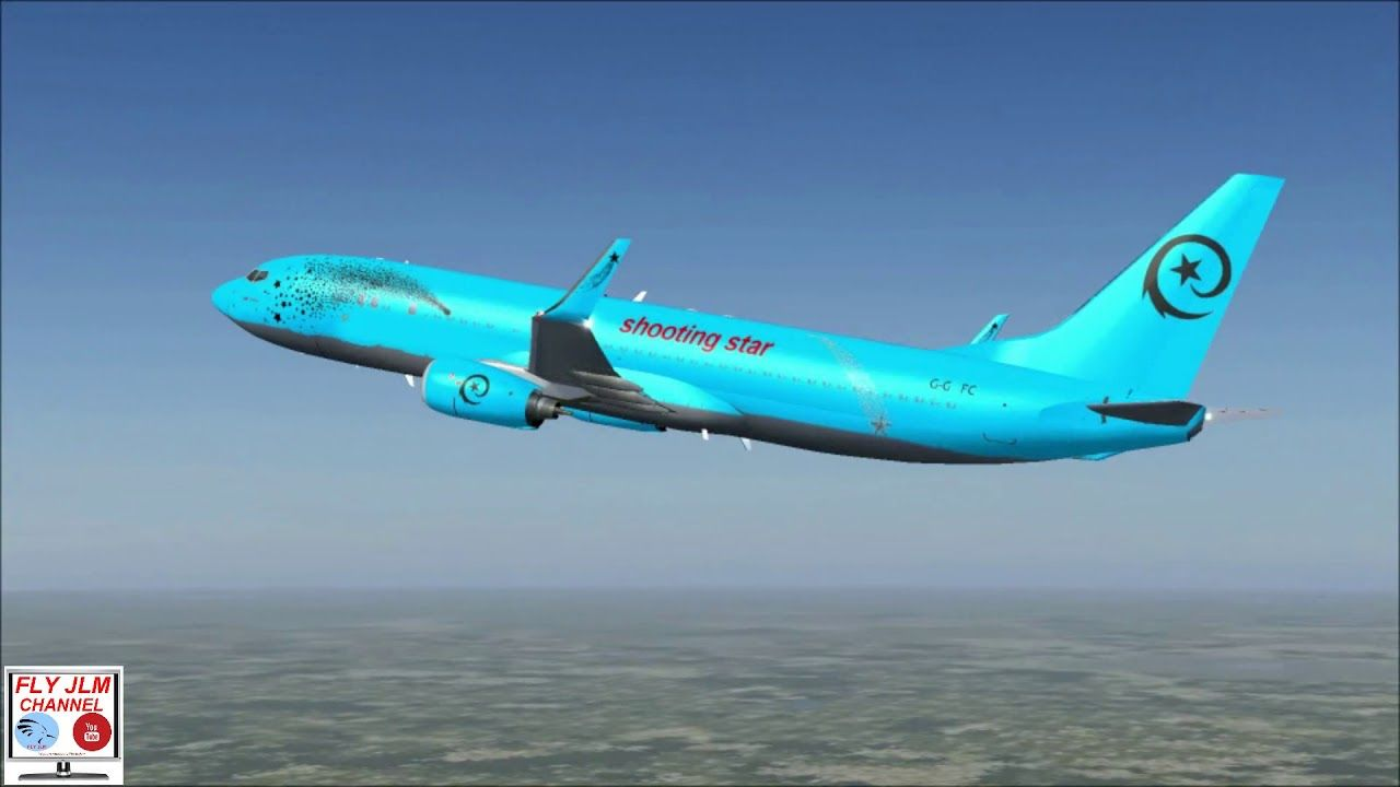 Fsx Full Flight From Moscow To Gdansk With Boeing 737 Private Owner