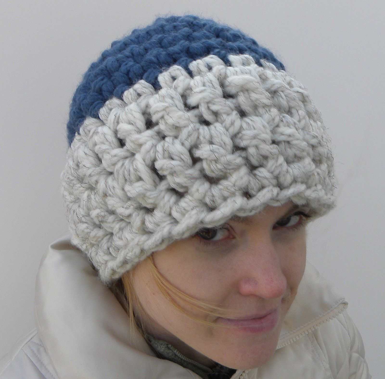Crochet beanie hat using 2 strands of super bulky yarn crochet crochet beanie hat using 2 strands of super bulky yarn bankloansurffo Choice Image