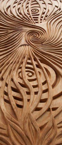 Wood relief carvings u carving in u