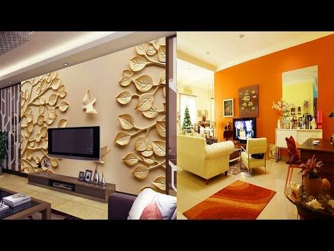 stunning 3d t.v wall design ideas-wall units designs - YouTube ...