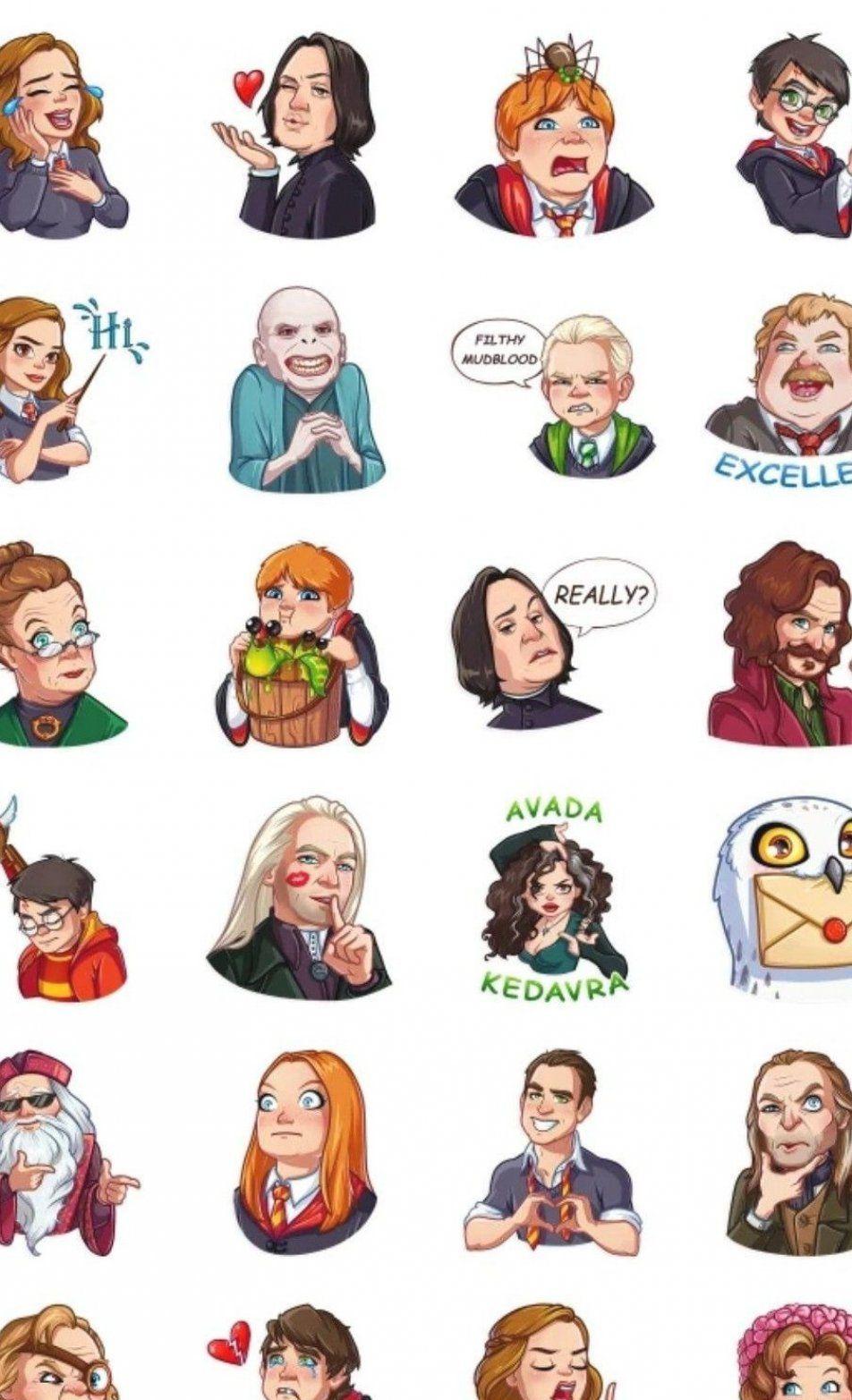 Harry potter Telegram sticker packs - Best Telegram Stickers    #Harry #packs #Potter #Sticker #Stickers #Telegram