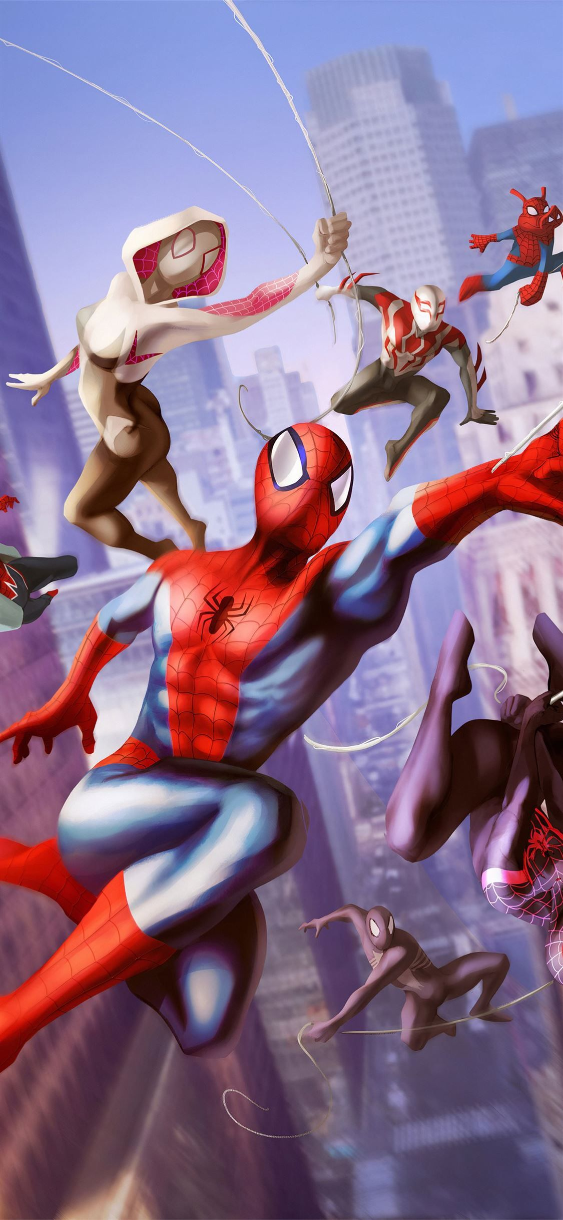 Spiderman Into The Spiderverse 2 2022 Movie Superheroes Movies 4k Spiderman Animatedmovies Artw Spiderman Best Iphone Wallpapers Samsung Galaxy Wallpaper