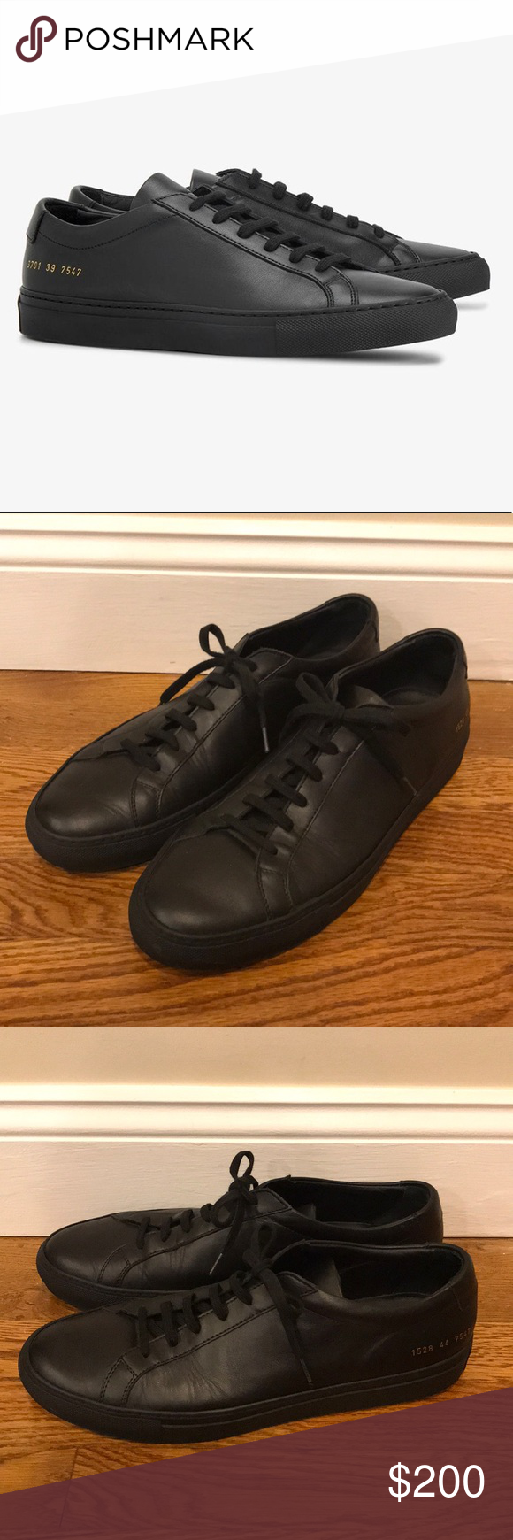 Common Projects Achilles Low Leather
