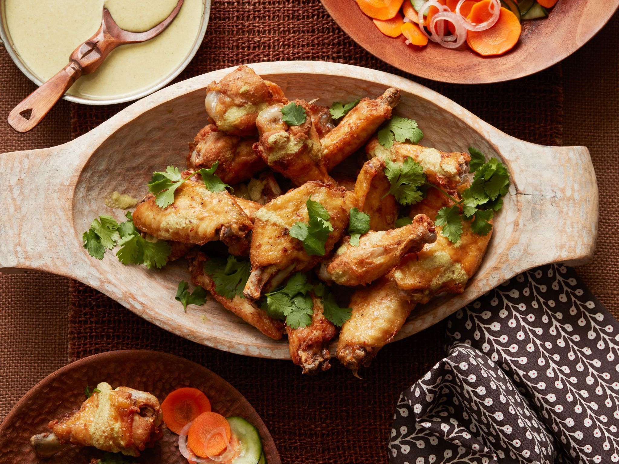 Unique chicken wing recipes with international flavors food unique chicken wing recipes with international flavors food network forumfinder Images