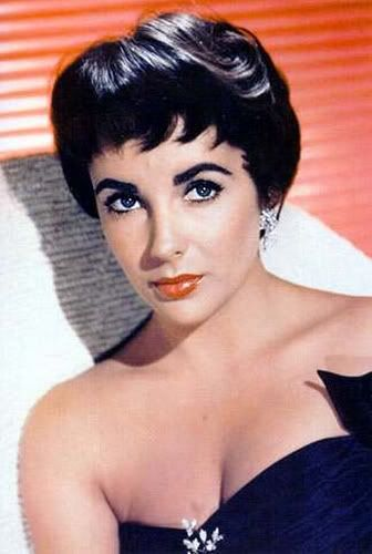 Classicpedia Elizabeth Taylor S Beautiful Short Hair 1950s ...