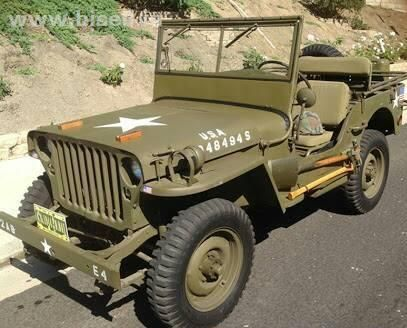 Mahindra Ford Jeep Gpw1942 In Running Condition Military Jeep