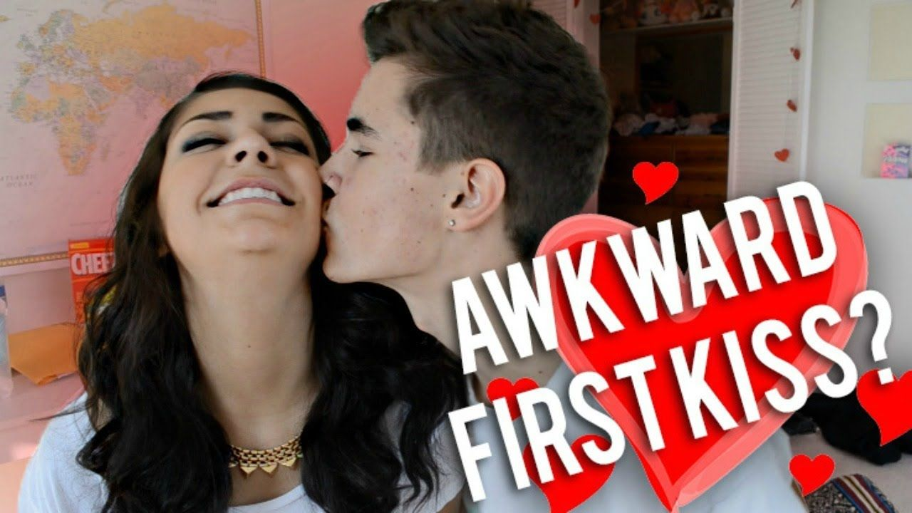 Awkward First Kiss? ~ They are the cutest and I hope me and