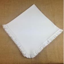 Blank Infant Blanket - Ruffle