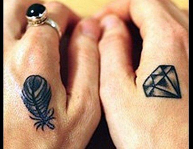 Modelos de Tatuagem de Diamante. (Foto: Divulgação)