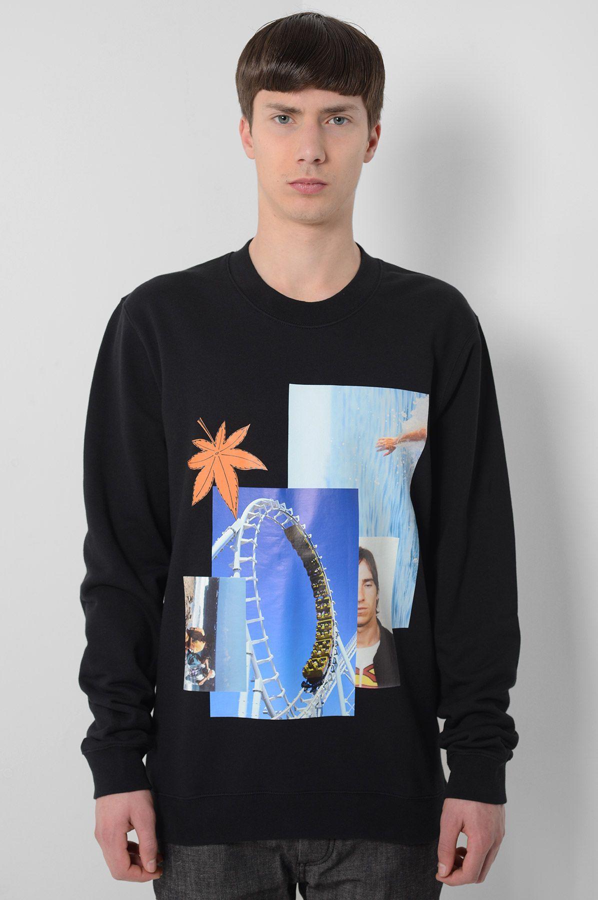Rollacoaster Sweatshirt by Raf Simons