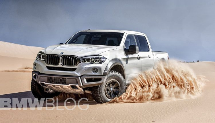 This Bmw Pickup Truck Could Play In Transformers Bmw Truck Pickup Trucks Trucks