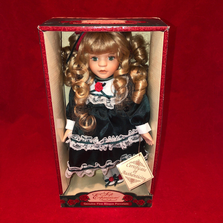 Dan Dee Soft Expressions Genuine Fine Bisque Porcelain Doll  Etsy