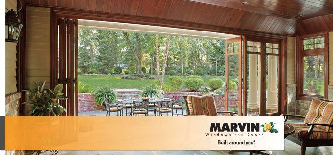 Folding Patio Doors Bi Fold Doors Elegant Contemporary Marvin Bi