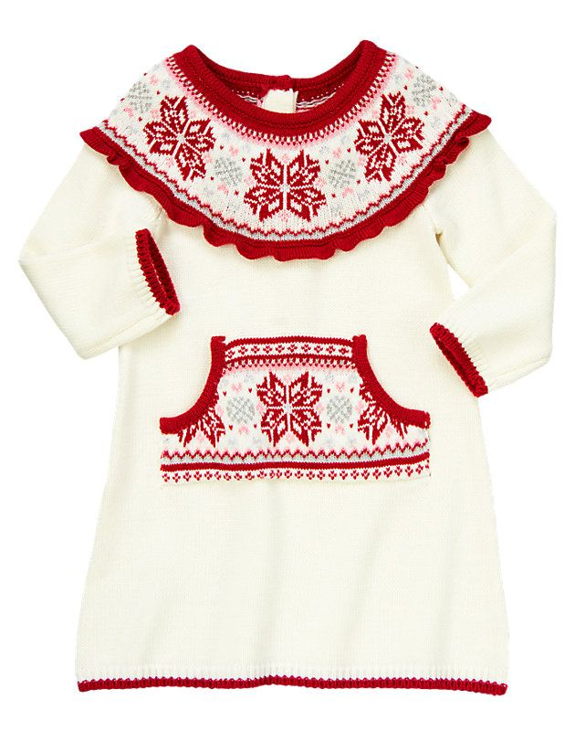 Gymboree Fair Isle Sweater Dress | Baby Girl Style | Pinterest ...