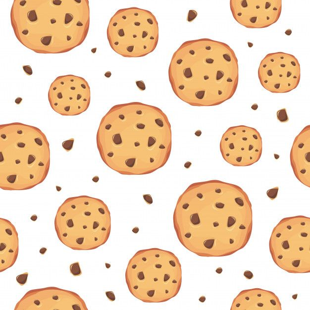 Cookies Pattern Background Background Patterns Cute Wallpaper Backgrounds Cute Girl Wallpaper