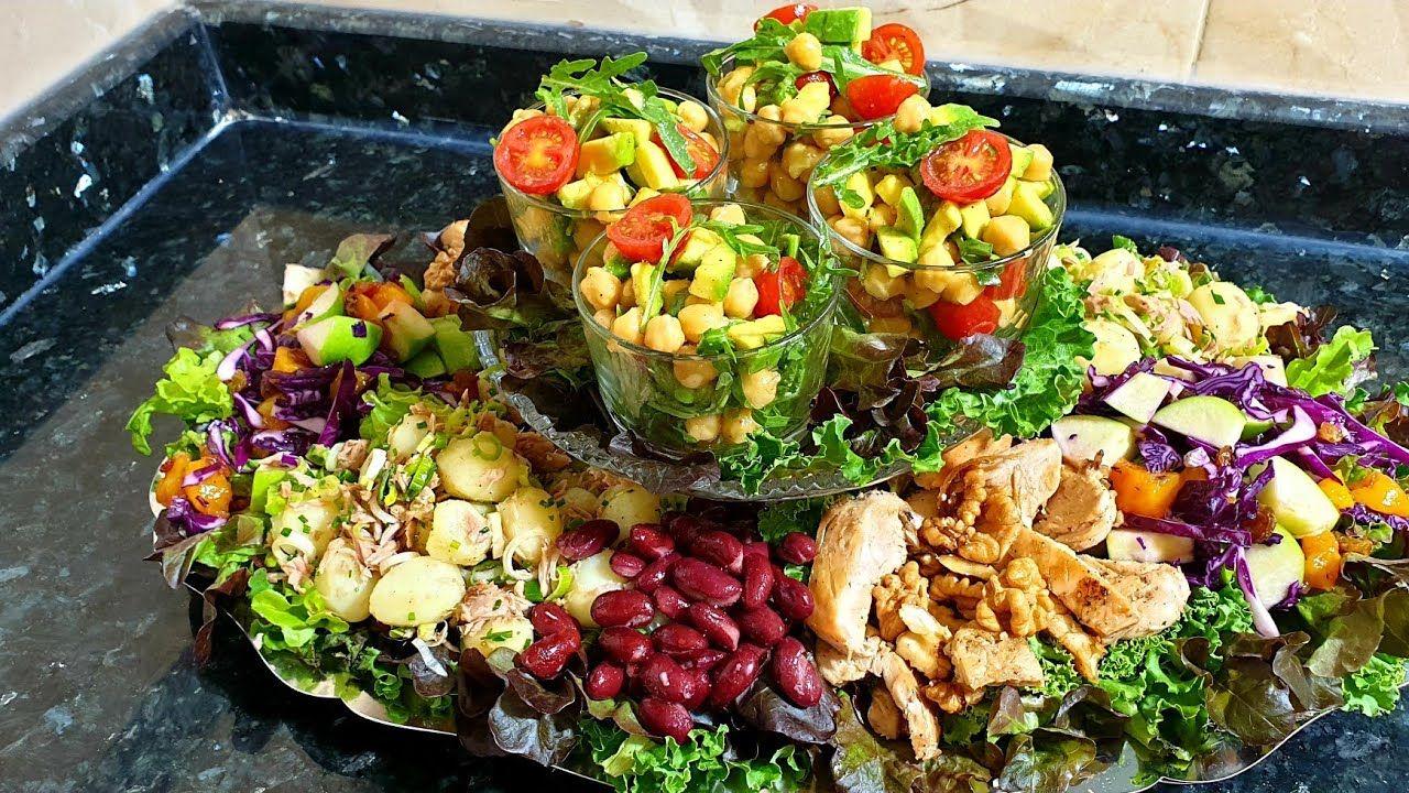 وجدي لضيافك أسهل سلطة راقية بمكونات بسيطة ولذيذة جدا Cobb Salad Salad Food