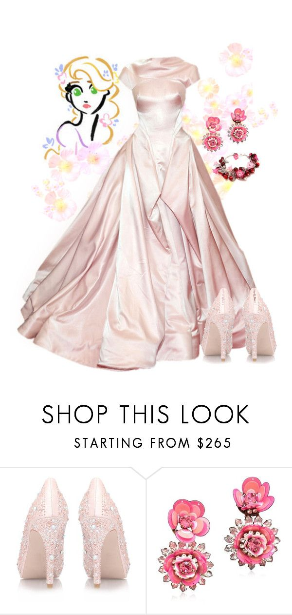 """""""Rapunzel"""" by violetvd ❤ liked on Polyvore featuring Zac Posen"""