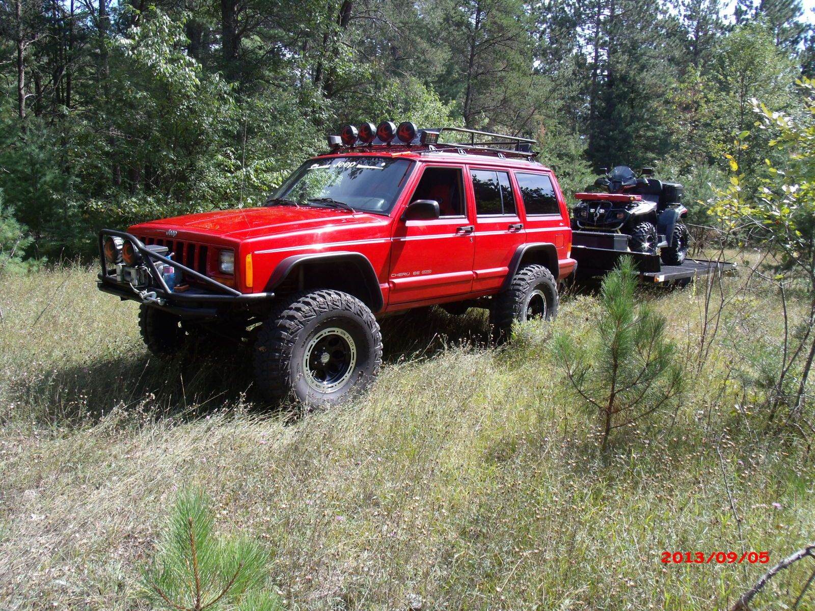 Jeep Cherokee Xj Tent Click The Image To Open In Full Size