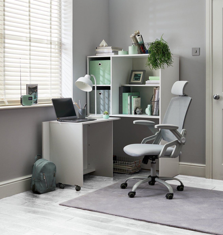 Buy Argos Home Milton Mesh Ergonomic Office Chair Grey