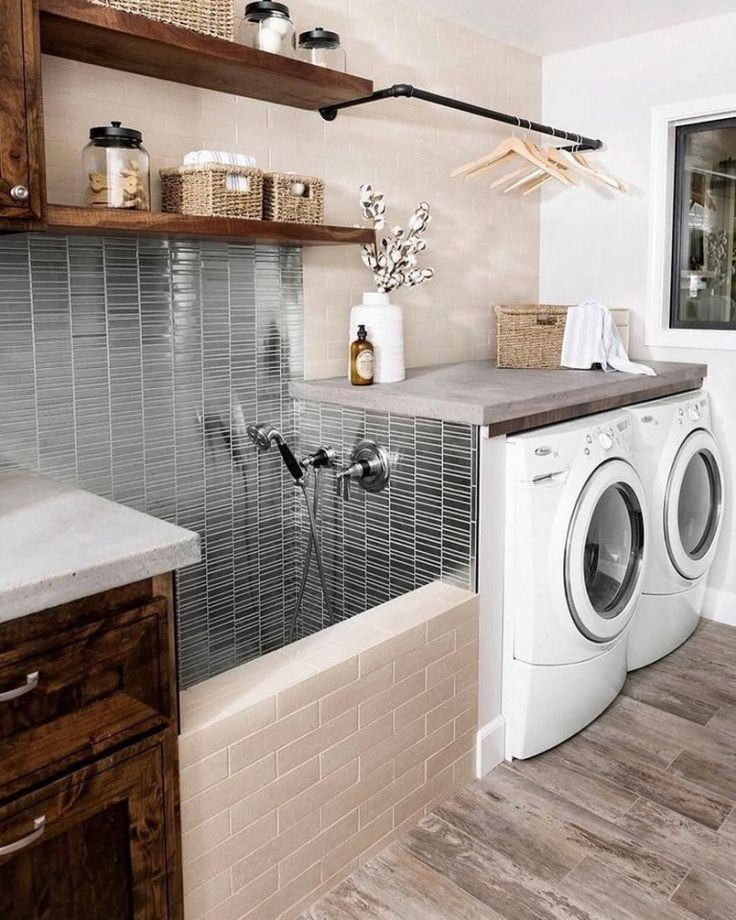Stylish Storage Ideas For Small Bedrooms: 53 Small Laundry Room Decoration Ideas For Your Elegant