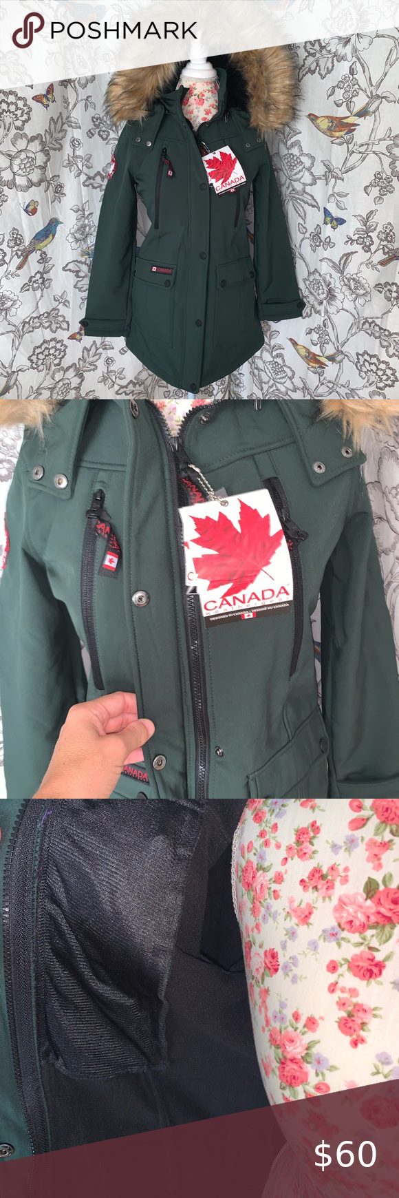 Canada Weather Gear Nwts Soft Shell Anorak In 2020 Clothes Design Anorak Fashion Design