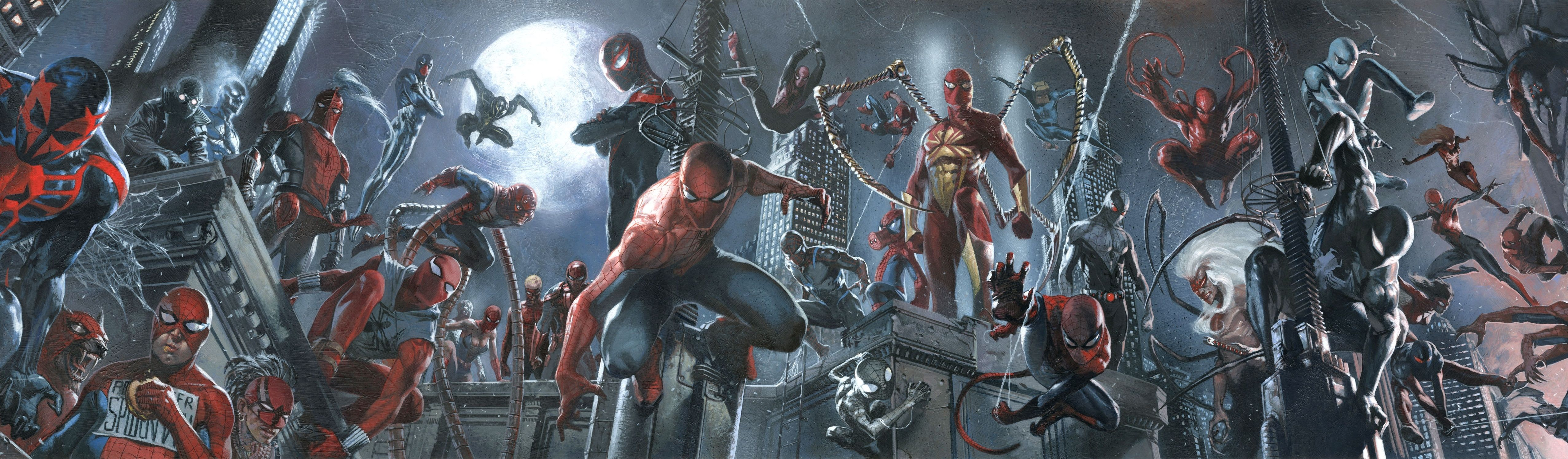 Spiderverse Universo Spiderman Poster