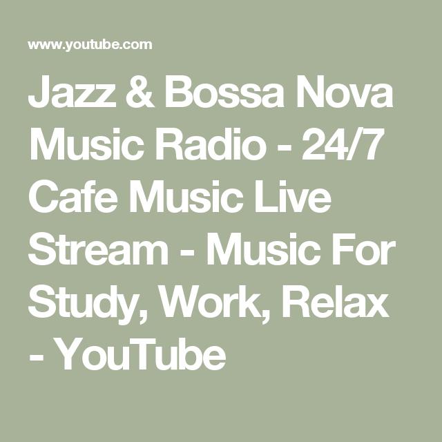 Jazz & Bossa Nova Music Radio - 24/7 Cafe Music Live Stream