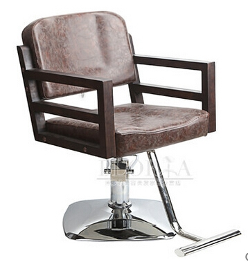 680.00$  Buy here - http://alicwq.worldwells.pw/go.php?t=32778315855 - The new barber chair. Solid wood hairdressing chair. The chair Europe type restoring ancient ways. 680.00$