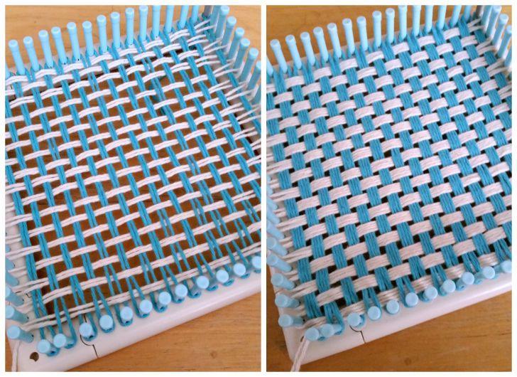 Yarny Fun with the Martha Stewart Knit & Weave Loom Kit | Telar ...