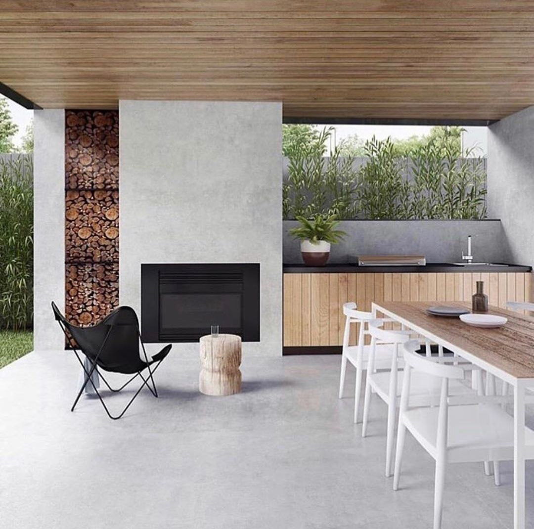 Arei Designs Australia On Instagram Outdoor Spaces Don T Have To Be Boring They Should Be An Extensi Outdoor Kitchen Design Home Renovation Outdoor Bbq Area