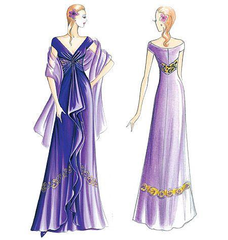 F2640 - Marfy | Marfy Design | Pinterest | Dresses, Sewing und ...