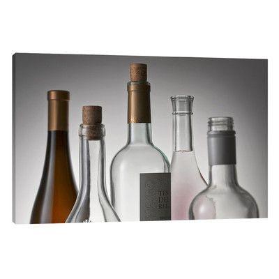 JaxsonRea 'Bottle Topsprinted' by Barry Seidman Photographic Print on Wrapped Canvas Size:
