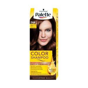 Palette Color Shampoo 244 Chocolate Brown Demi Permanent Coloration