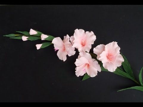 Como Hacer Flores De Papel China Flor De Papel Crepe De - Flores-de-papel-crepe