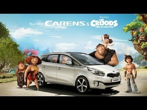 See The All New Kia Carens In Action With Dreamworks Croods
