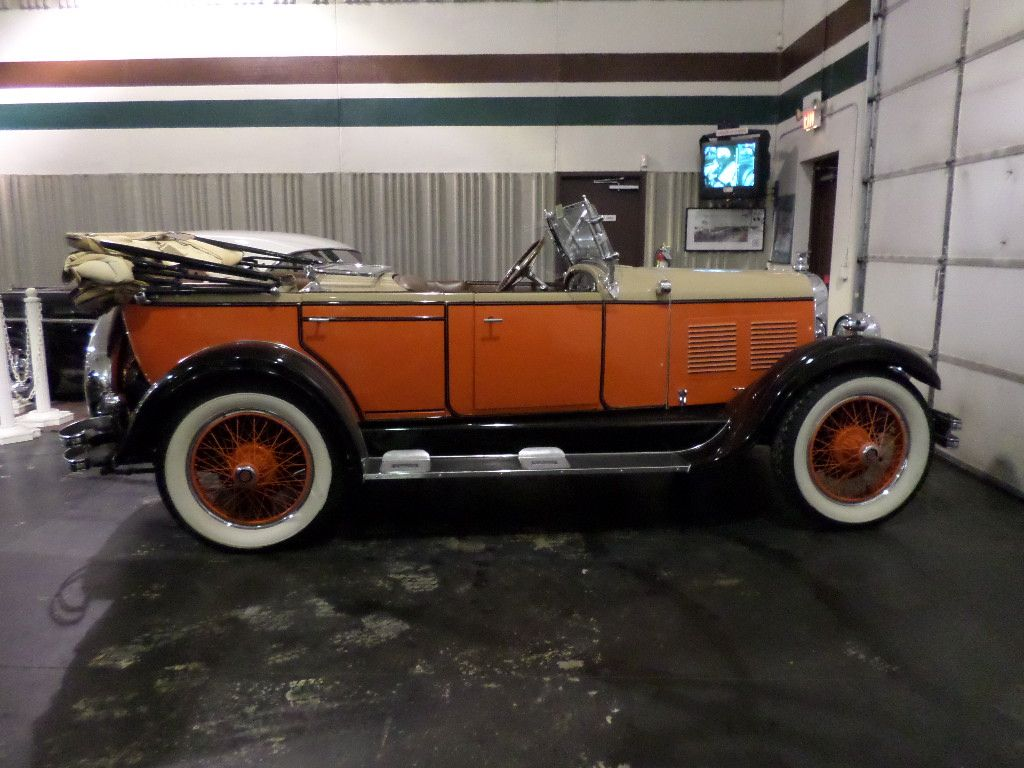 1928 Chandler Maintenance/restoration of old/vintage vehicles: the ...