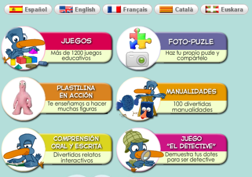 Childtopia Cientos De Juegos Educativos En 6 Idiomas Juegos