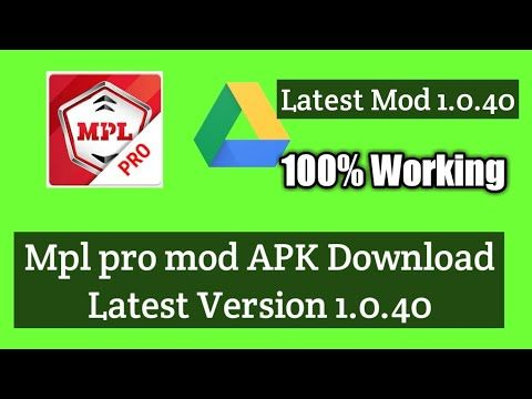 Mpl pro mod APK latest version 1.0.40 || Mpl pro game hack - YouTube in  2020 | Mod app, Android apps free, Game app