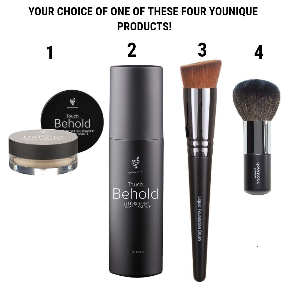 Touch Trio Bundle Your Choice Of One Of These Four
