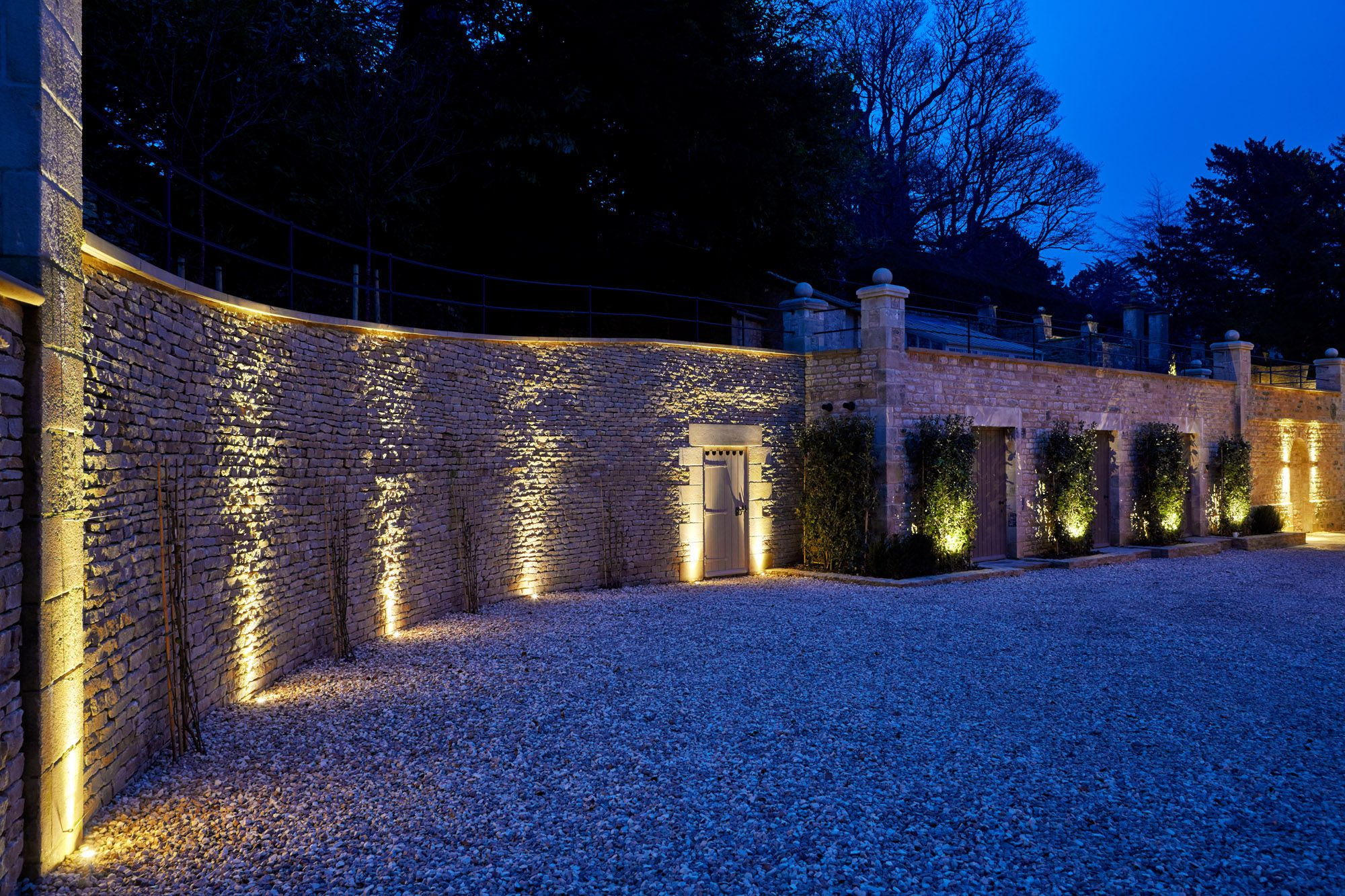 50 Inspirational Garden Lighting Ideas Garden wall