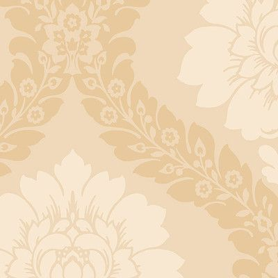 "Norwall Wallcoverings Inc Shades 32.7' x 20.5"" Daisy Damask Wallpaper Color: Beige"