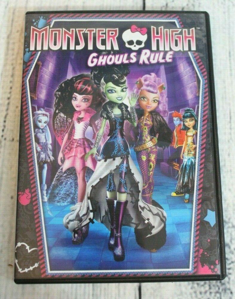 Monster high ghouls rule dvd 2012 kids movie nr