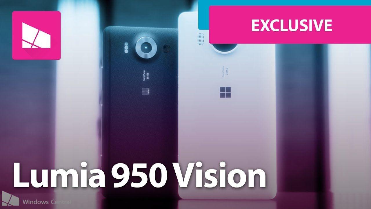 This is Microsoft's ORIGINAL Lumia 950 vision | 視訊 | Microsoft