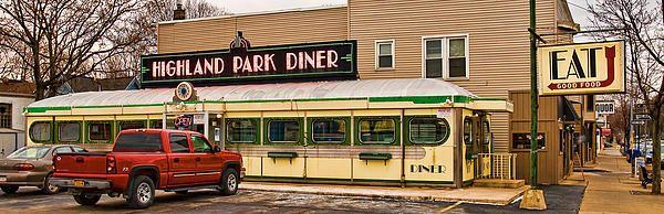 Highland Park Diner Ii By Robert Culver Diner Highland Park American Diner