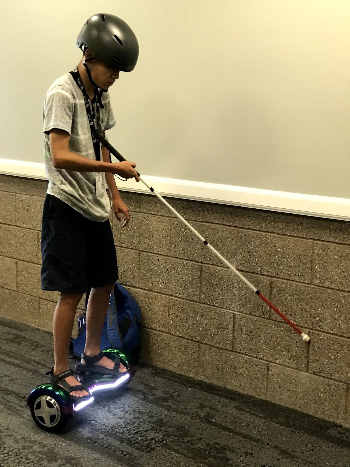 Use A Hoverboard To Teach Ecc Skills To Students Who Are