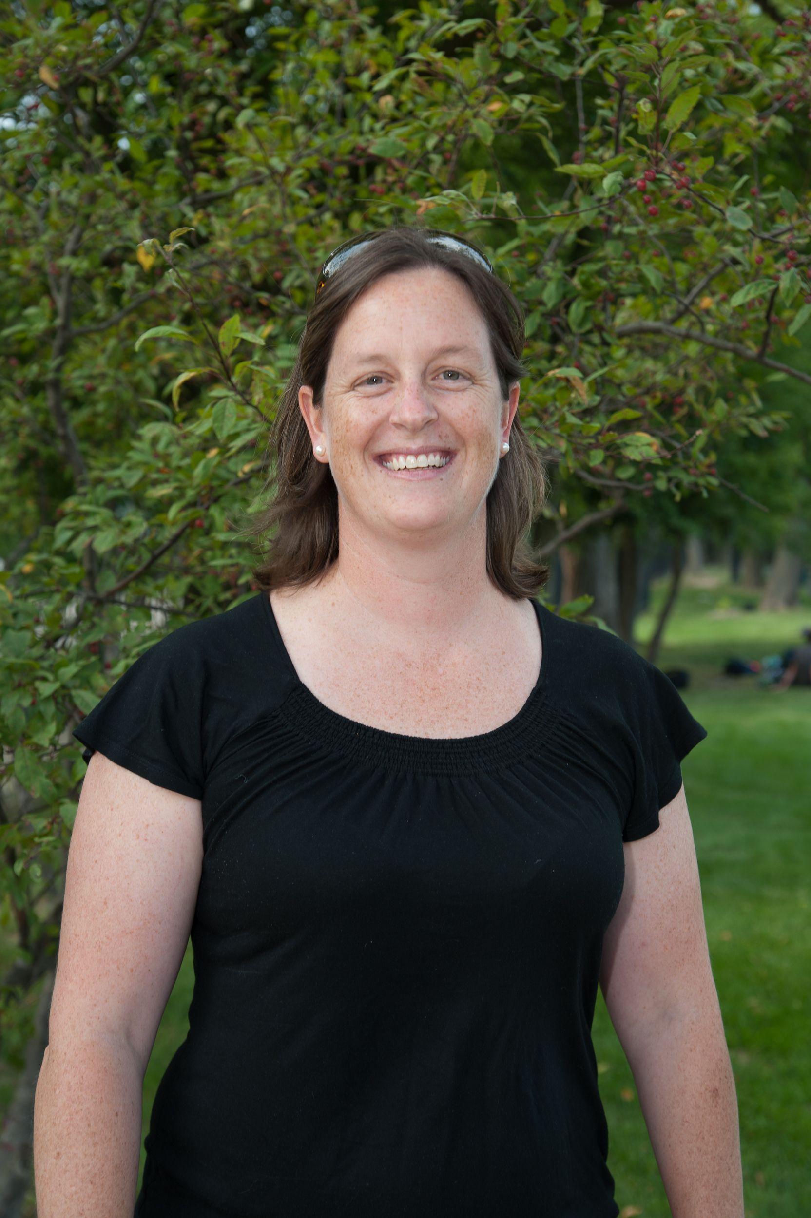 Lizzy Giffen, Upper School English Teacher. Colby College