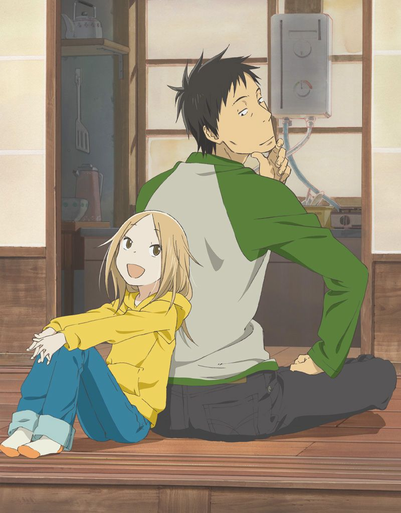Usagi drop 9 10 super cute story about a guy who unexpectedly ends up adopting his 6 year old aunt just dont read the manga past chapter 24 for reals